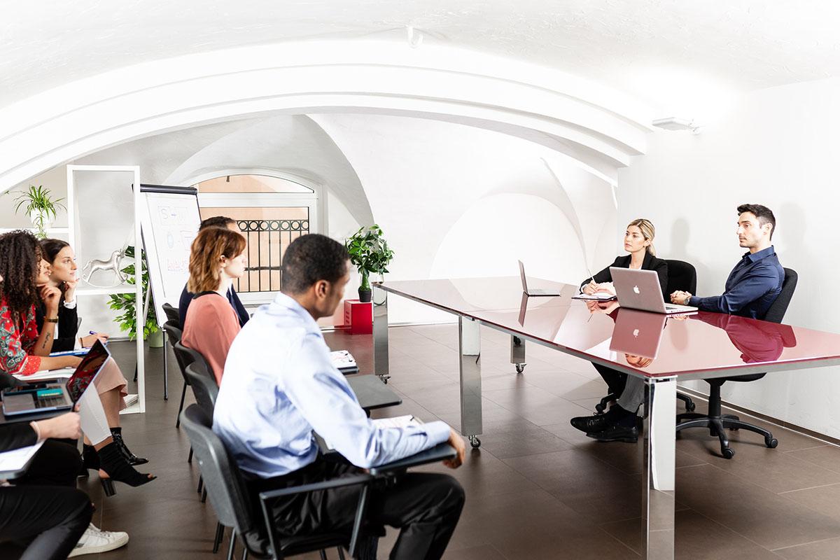 Sala riunione Bologna | Creasystem
